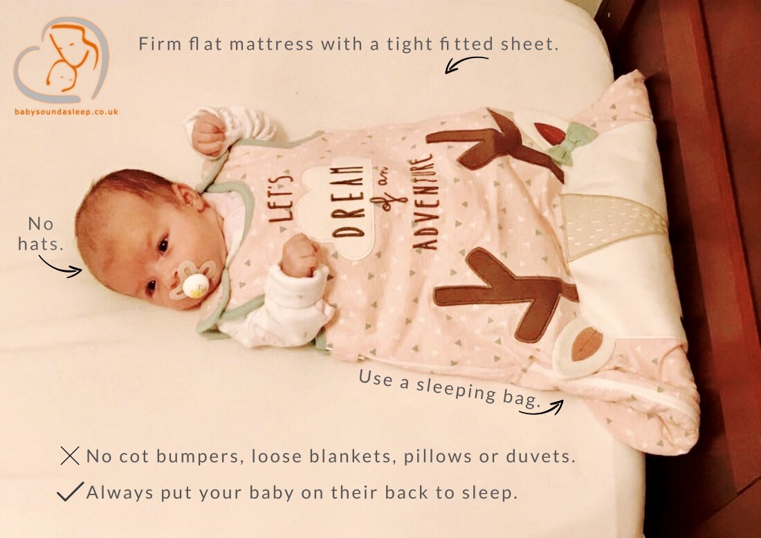 Is Your Baby Sleeping Safely Baby Sound Asleep