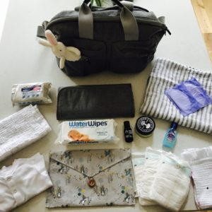 What is in my baby changing bag?  - Newborn edition